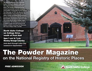 Powder Magazine Free Admission