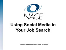 Using Social Media in Your Job Search Workshop