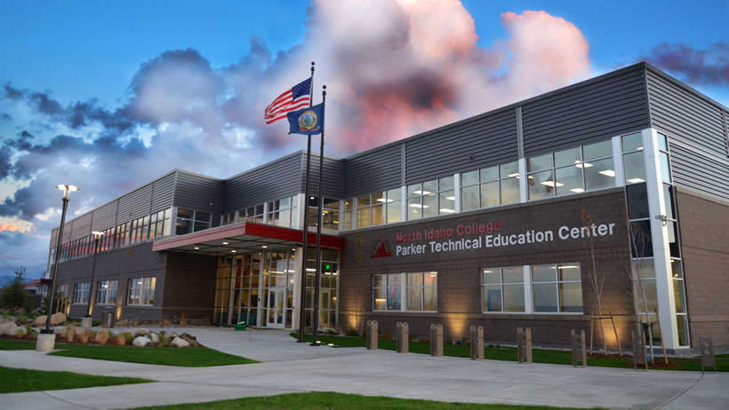 Parker Technical Education Center building exterior