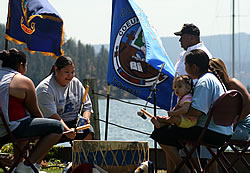 Coeur d'Alene Tribe Members at Yap-Keehn-Um